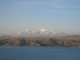チチカカと山脈