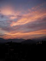 カトの夕日