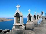 コパカパーナの丘の十字架
