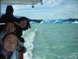 流氷船で皆と