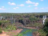 イグアスの滝・最初
