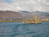 チチカカ湖・船