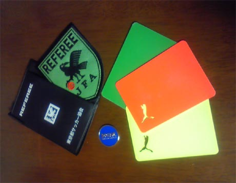 refereecard