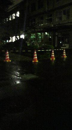 20110922自衛隊中央病院桜倒木
