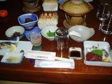 P8110001市房観光ホテル夕食