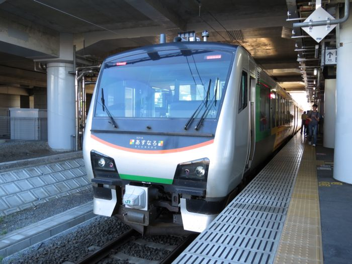 JR東日本HB-E300系気動車 : 好奇...