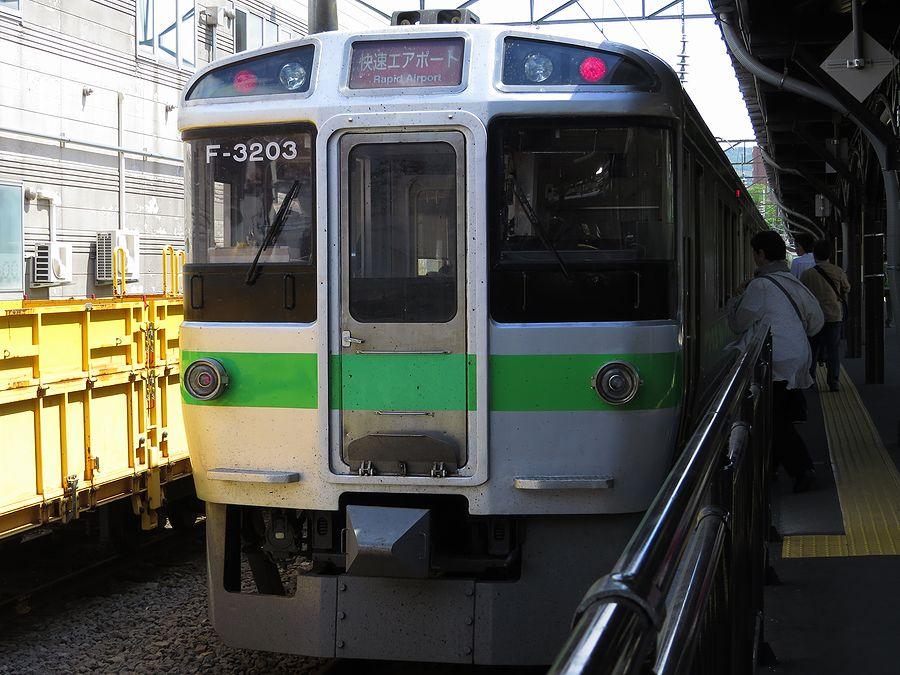 JR北海道クモハ721 3203 : 好奇...