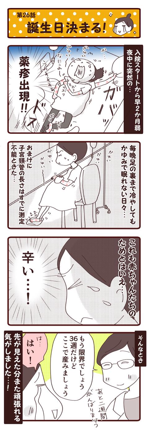 妊娠話第26話『誕生日決まる!』