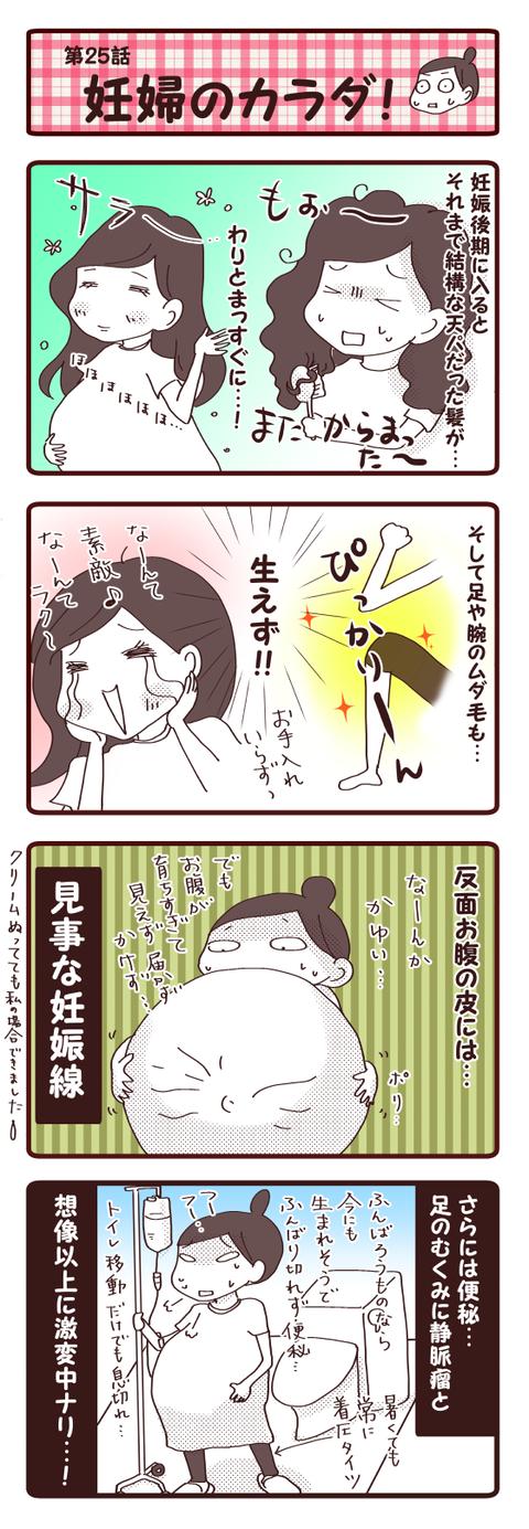 妊娠話第25話『妊婦のカラダ!』