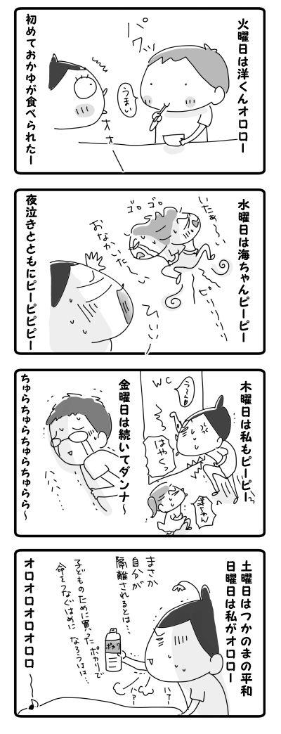 ちゅらちゅら的な一週間【4コマ】