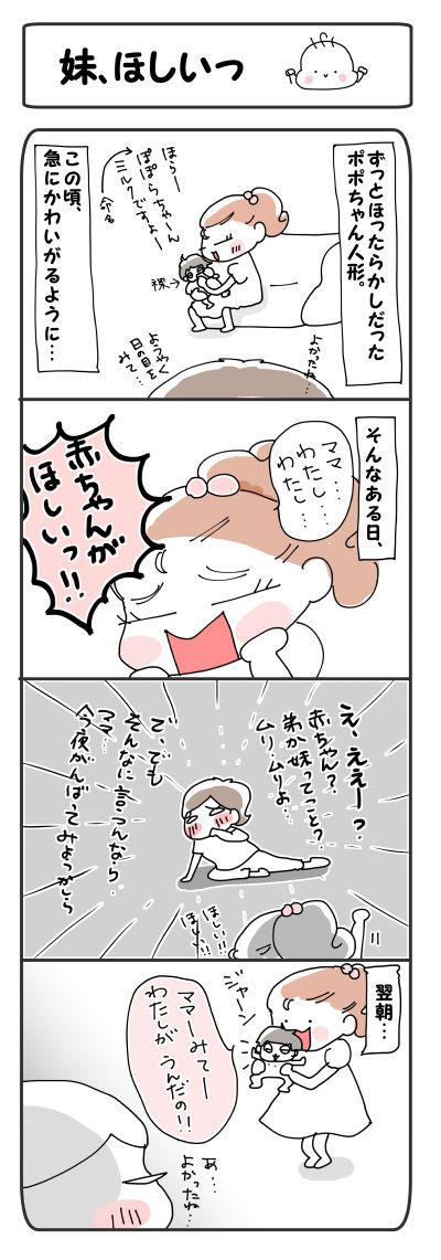 妹、ほしいっ【4コマ】