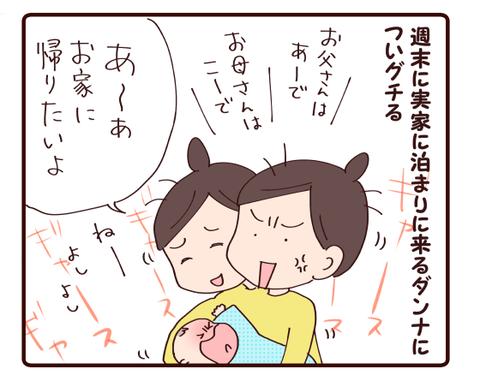 帰りたいけど(双子0歳~3か月)