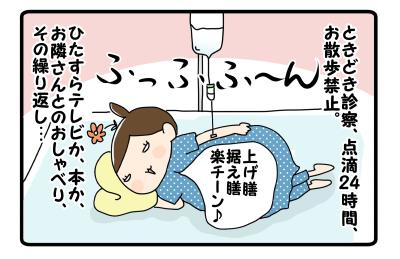 悪寒あれども…&『入院生活!』【更新のお知らせ】
