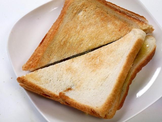 おうちで「のりトースト」