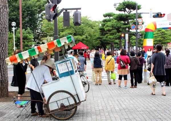 十和田・花火アイス(華美アイス)