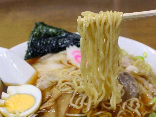 下館ラーメン・盛昭軒(麺は自家製)