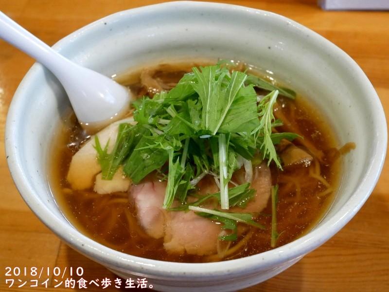 麺堂HOME・期間限定「鶏と煮干しのアレ」