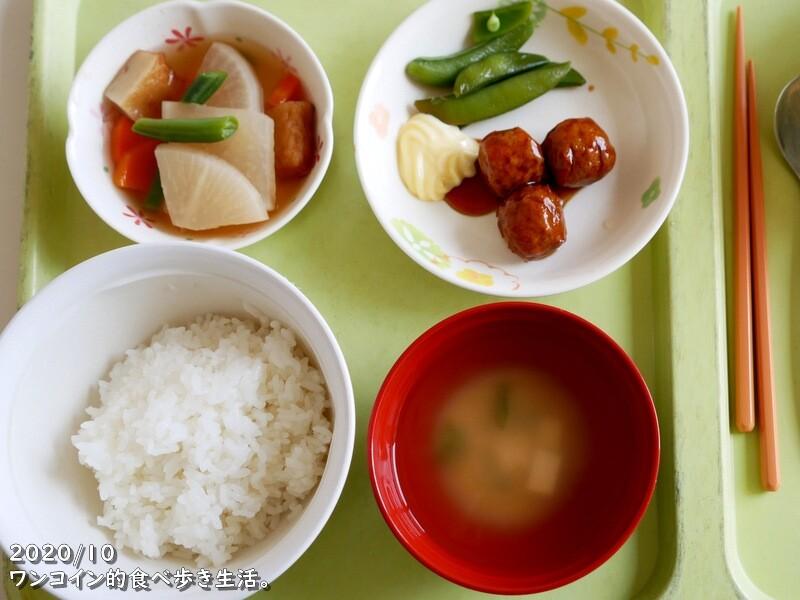 病院食:オーソドックスな朝食