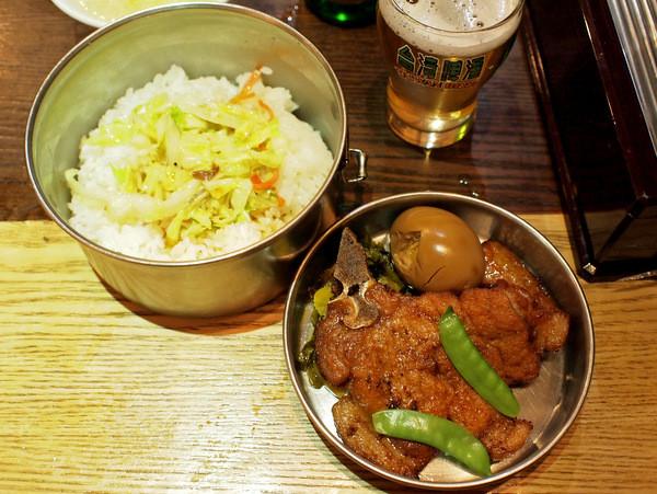 劉の店@錦糸町・台湾鉄道弁当(2段重ね)