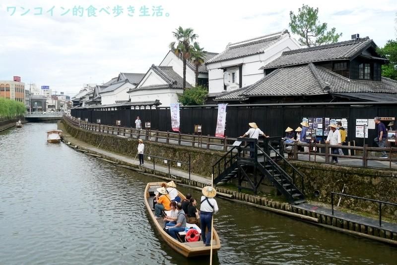 アド街1位:巴波川(蔵の街遊覧船乗り場)