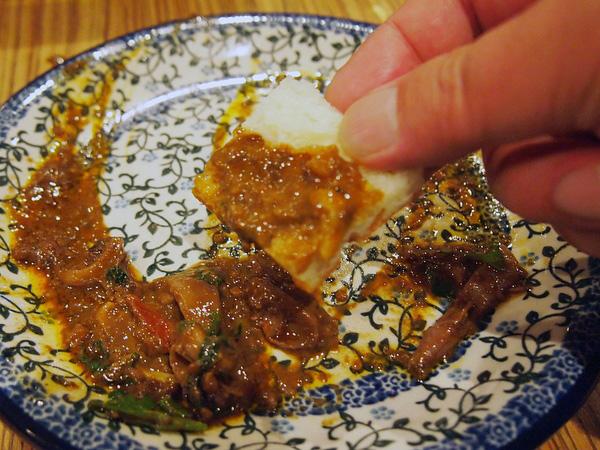 ロットチェント・イカ肝のラグー 極太麺