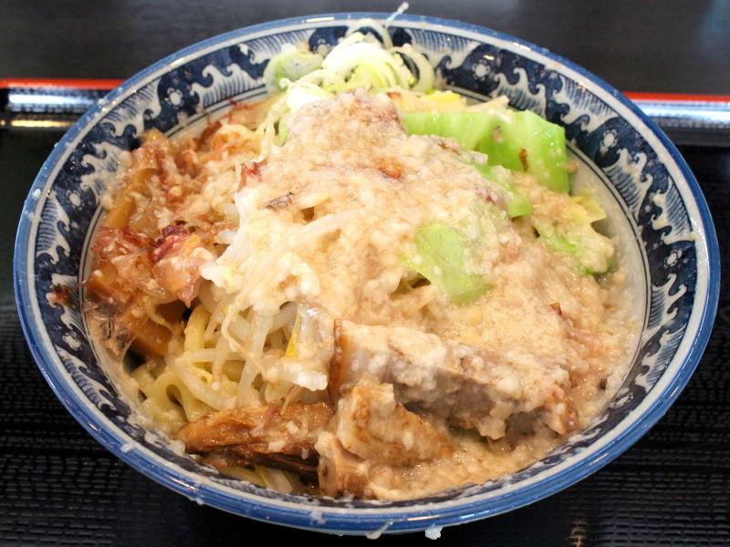 栃木市・麺堂之介 油そば
