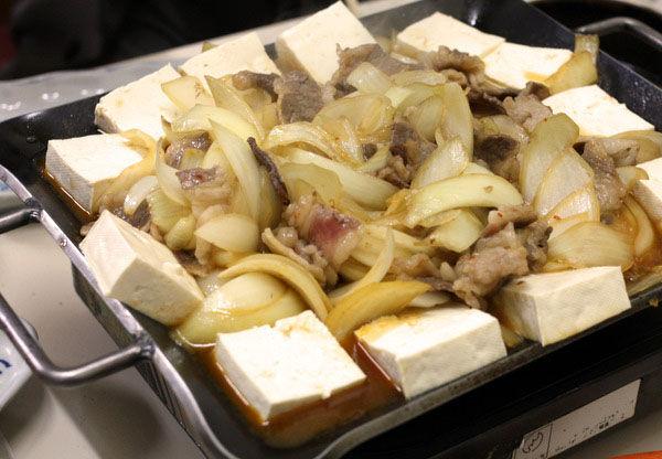 十和田バラ焼き 豆腐投入の秘儀