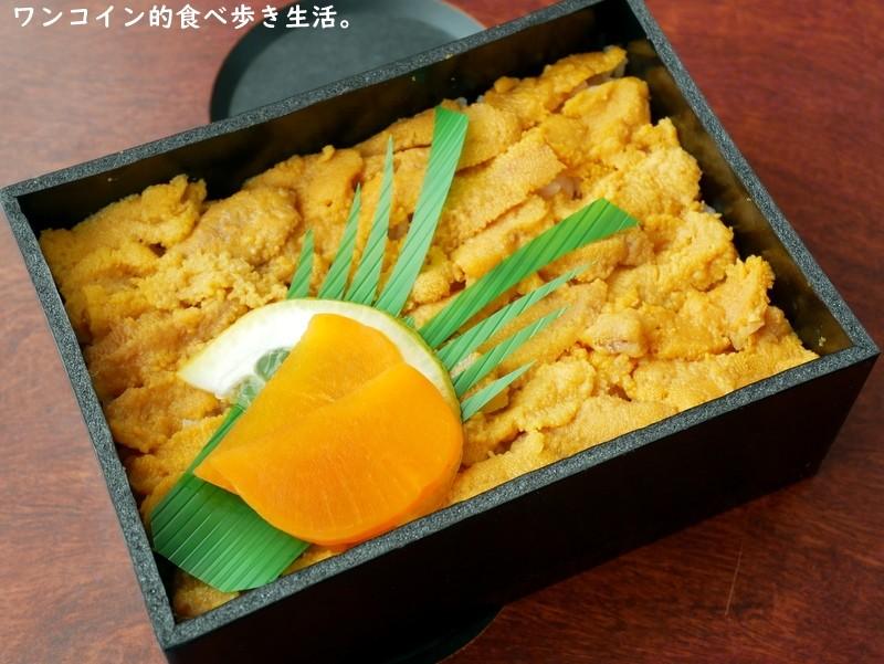 三陸リアス亭:久慈駅名物「うに弁当」