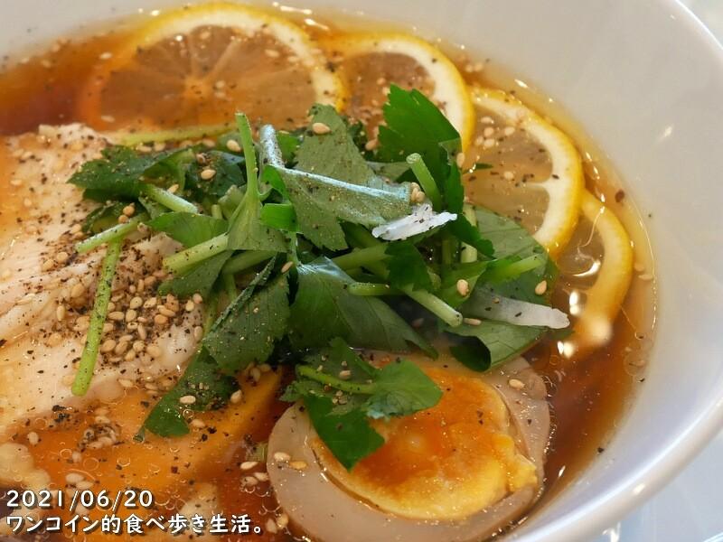中華カフェダイニング光琳・レモン麺