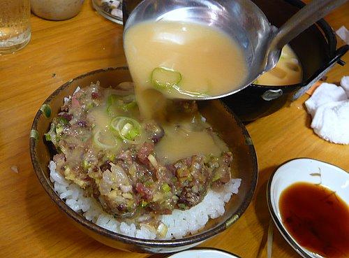 九絵 大岡山 シメはこれ!なめろう茶漬け : ワンコイン的食べ歩き生活。