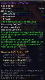 Doomcaller Mantle