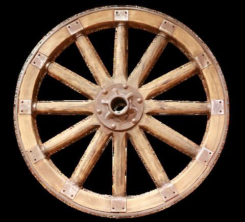 wooden-wheel-2490210_1920