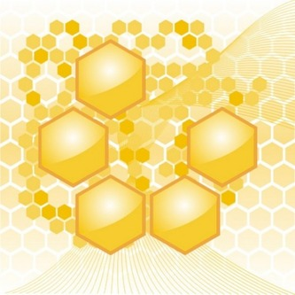 yellow-honeycomb-hexagon-geometric-background_279-10409