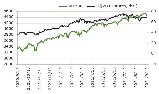 外国株とコモディティ