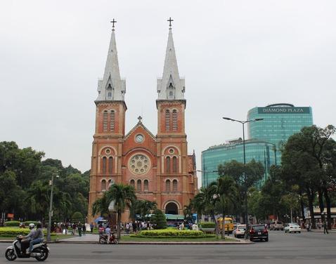 ホーチミン_聖マリア教会