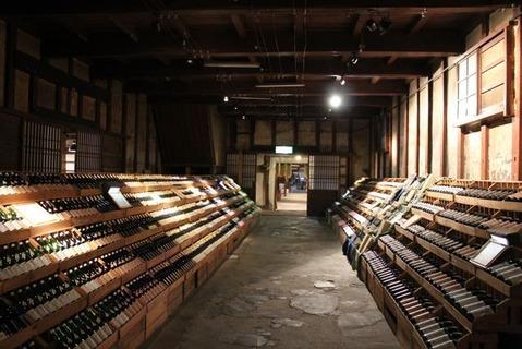 大和川酒造貯蔵庫