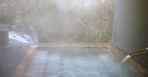会津若松の露天風呂