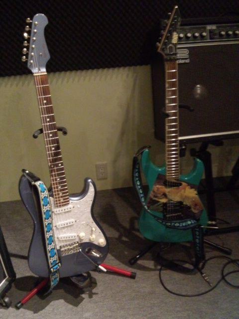 マイギター2本