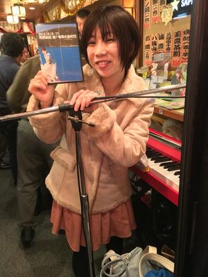 浅羽由紀、たかだすみれ @ 神田つちのと 無料ライブ