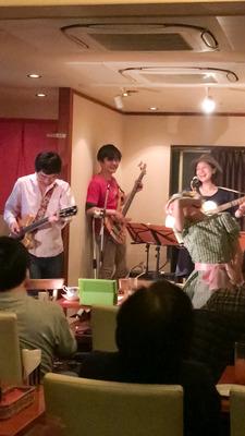 第3回 Pucaとnakasanの歌謡ショー @ 武蔵新城 CAFE Hat