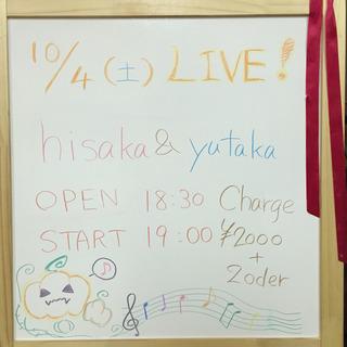 hisaka & yutaka LIVE