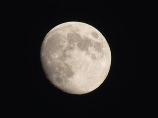 2013/09/17 17:58頃のお月様