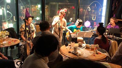 Puca、あべたかしGOLD&キラキラみさこ @ 下北沢 Live Bar BIG MOUTH (2016/10/30)