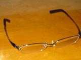 新調したメガネ