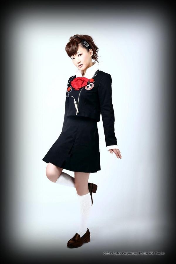 舞台版『ペルソナ3』の衣装を着た阿澄佳奈さん&蒼井翔太さんの全身写真公開!