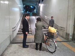 千葉駅駅頭弁天口側�