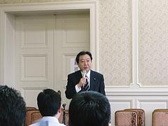 野田 佳彦新代表