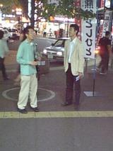 夜の稲毛駅頭活動5