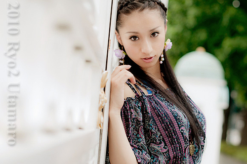 20100619(Sat) 黒澤恵里さん 迎賓館前