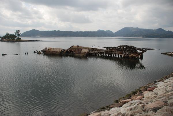 大根島の廃船 (6)